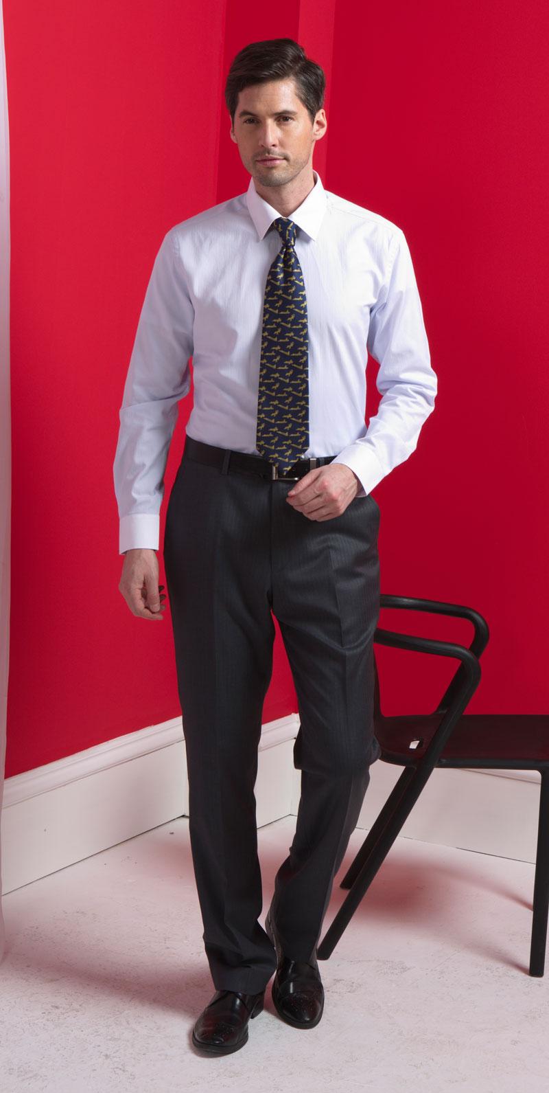 男士衬衫领带商务搭配套装
