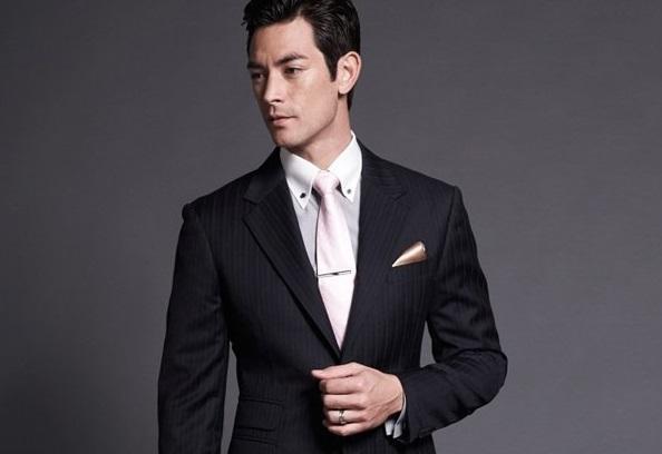 领带衬衫怎么和西服搭配