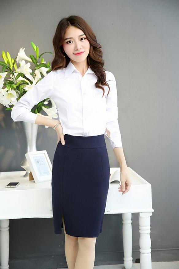 女性职业装�yg�_女士职业装套裙的长度要求_职业装套裙长度标准