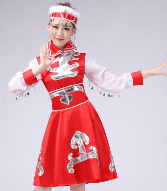 蒙古族 脸冻通红